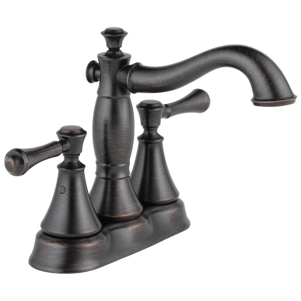 Delta Faucet Bathroom Sink Faucets Centerset Bronze Tones Venetian ...