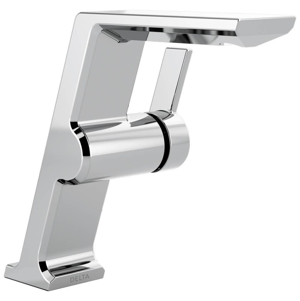 Delta Faucet Faucets Bathroom Sink Faucets Single Hole Pivotal ...