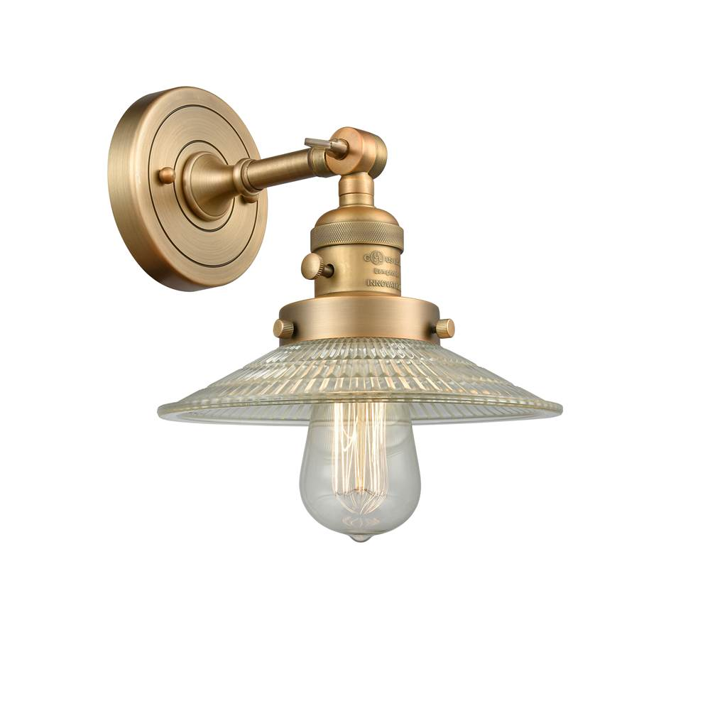 Brushed Brass Innovations 208L-BB-G201-8 2 Vertical Bath Vanity Light