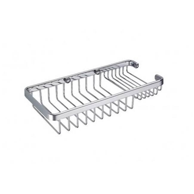 Kartners Shower Accessories Shower Baskets Polished Nickel   Central ...