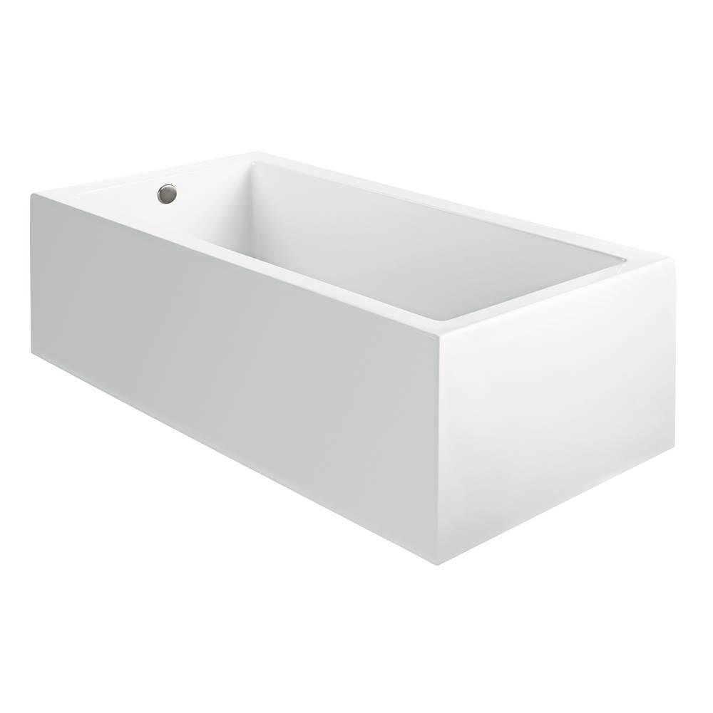 Bathtubs M T I Baths Tubs Air Bathtubs Three Wall Alcove   Central ...