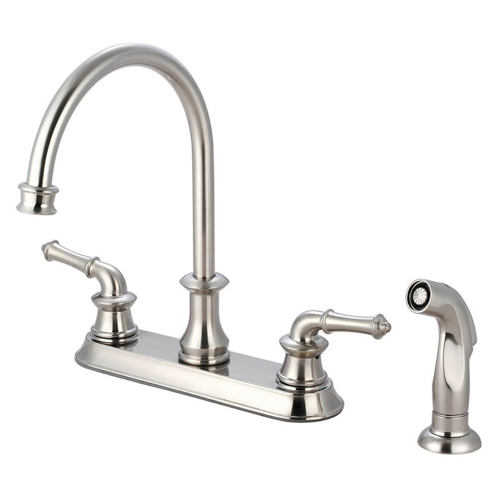 Pioneer Kitchen Faucets Del Mar Pvd Brushed Nickel | Central Arizona Supply    Phoenix Scottsdale Mesa Surprise Flagstaff Las Vegas