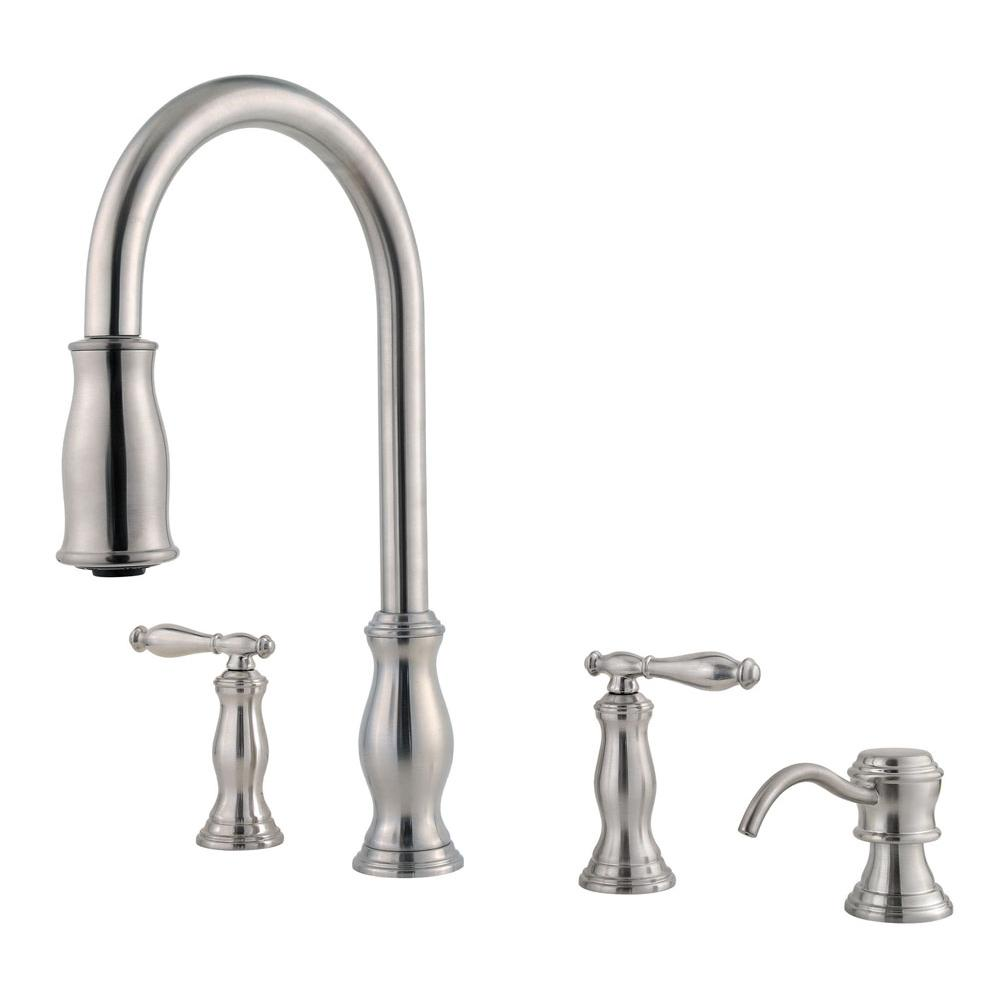 Good 4 Hole Kitchen Faucet Part - 13: Wish List