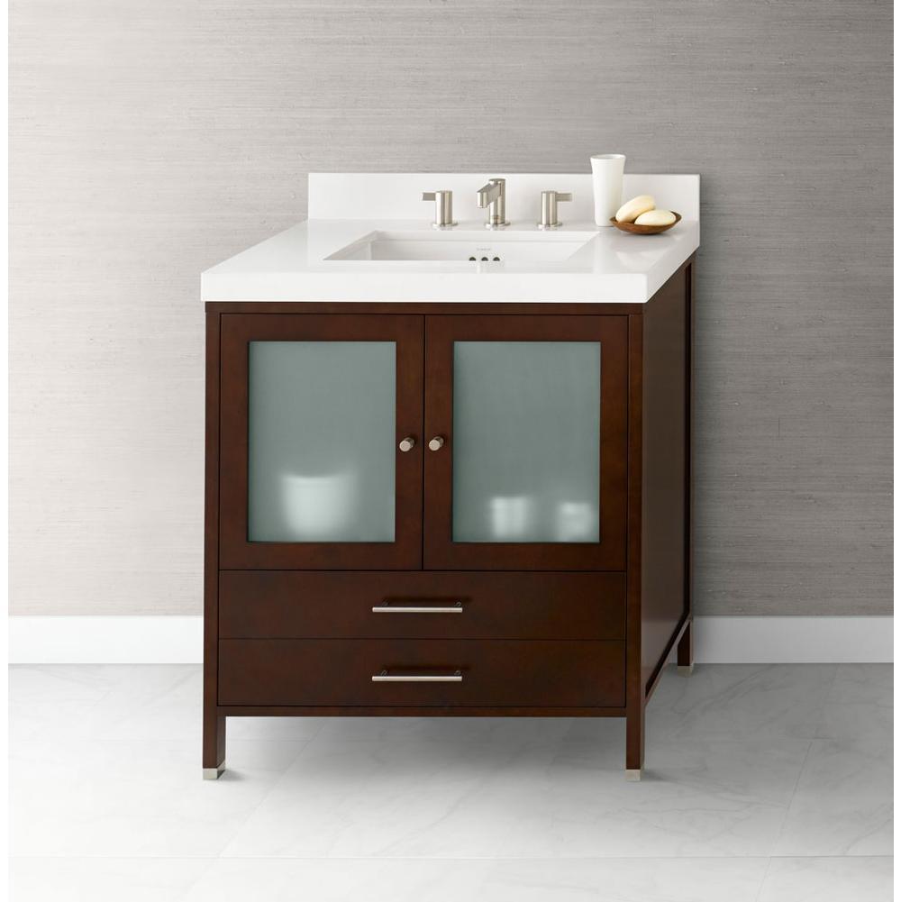 Ronbow 039230 1 H01 30 Juno Bathroom Vanity Cabinet Base In Dark Cherry