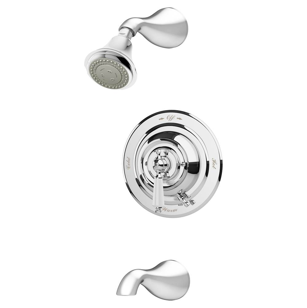Symmons Showers Tub And Shower Faucets Chromes | Central Arizona ...