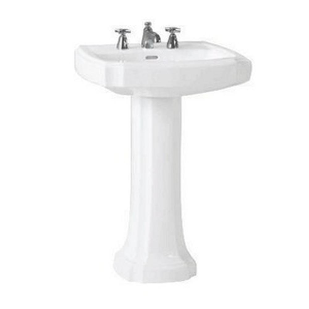 Toto Pedestal Bathroom Sinks Profile White | Central Arizona Supply ...
